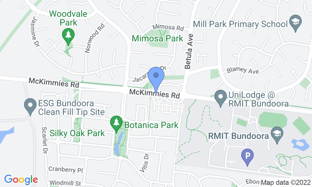 Bundoora Netball & Sports Centre map