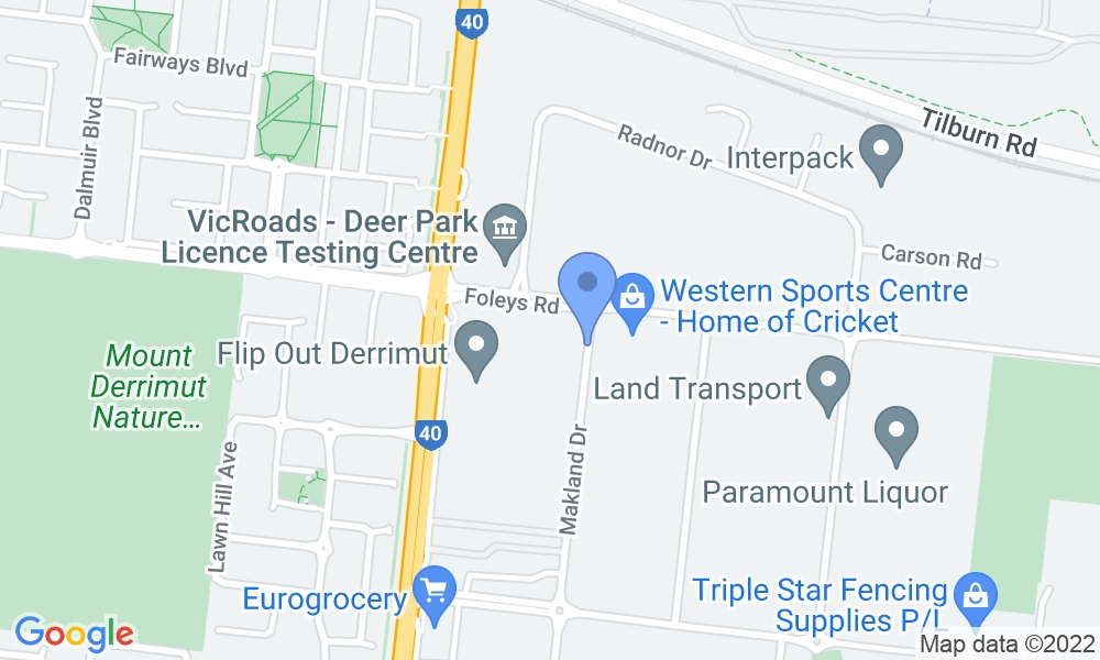 YMCA Derrimut Health and Aquatic Centre map