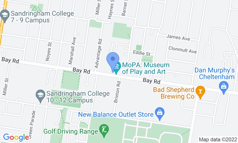 Fitness First Bayside map