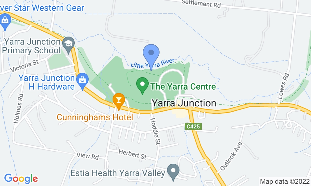 Yarra Recreation Centre map