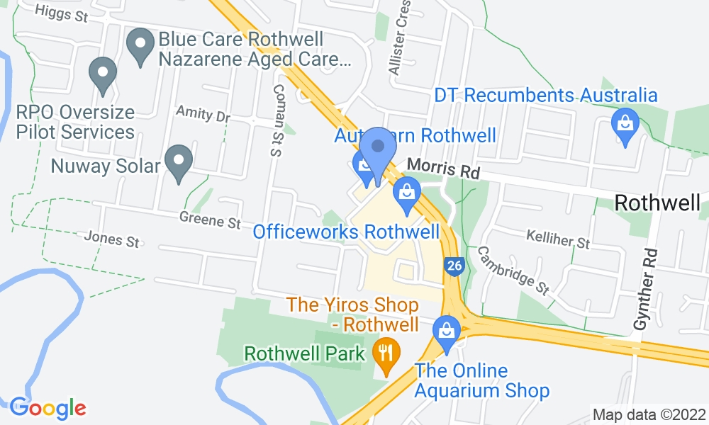 Genesis Fitness Clubs map