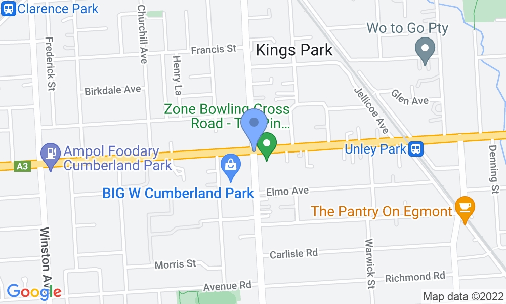 Goodlife Health Clubs Cross Roads map