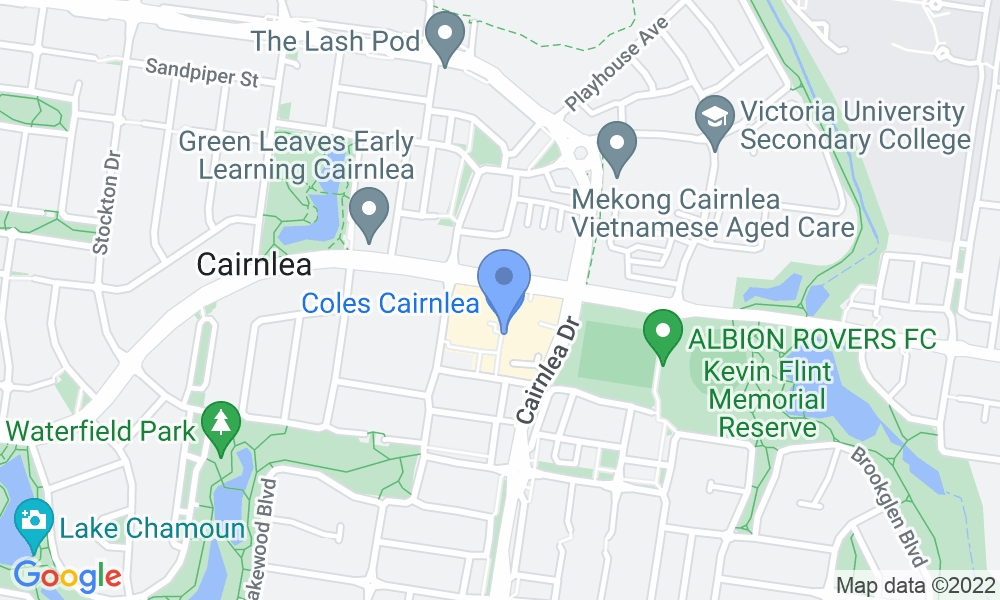Fernwood Fitness map