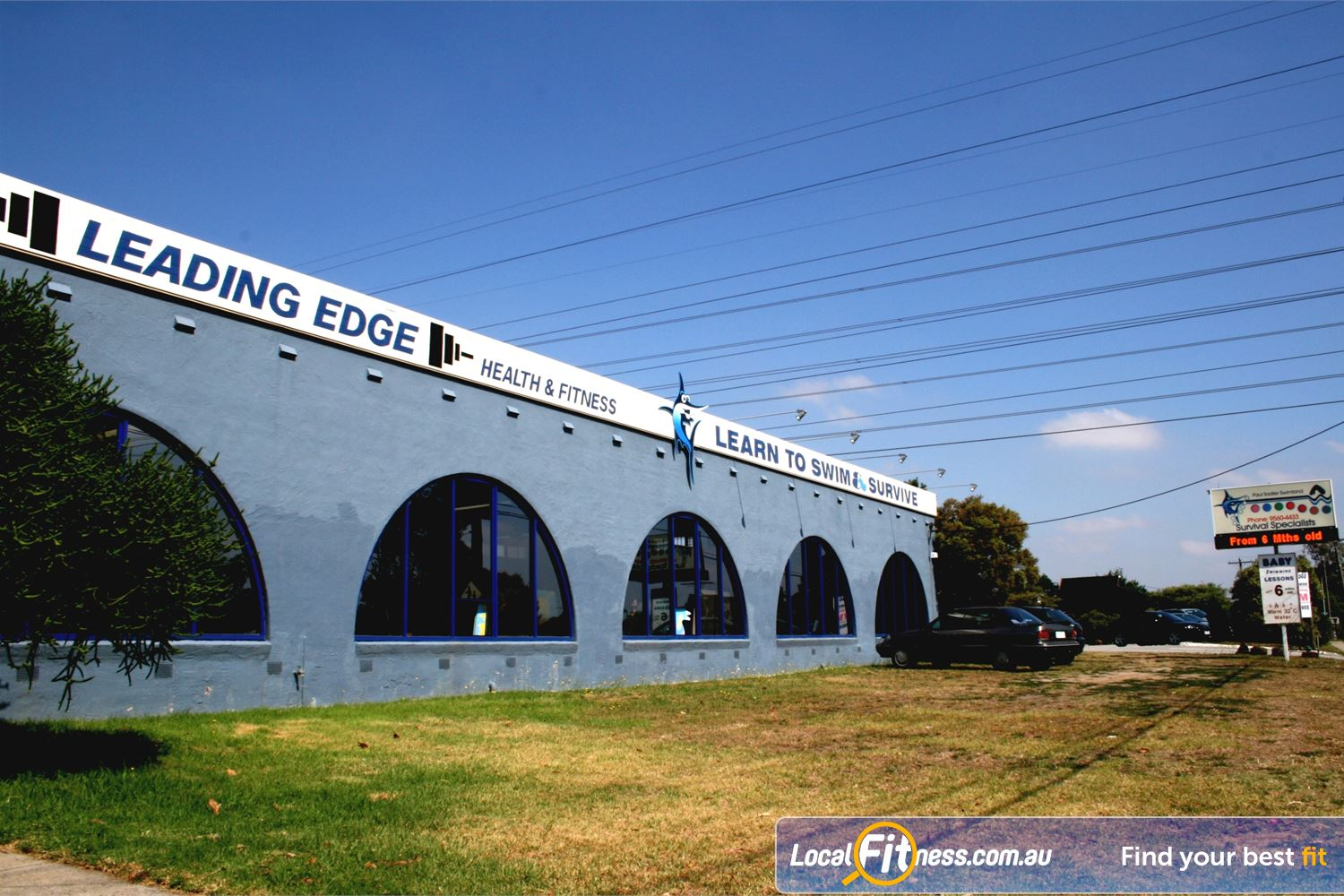 Leading Edge Health & Fitness front photo