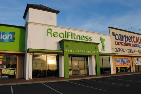 Real Fitness front photo