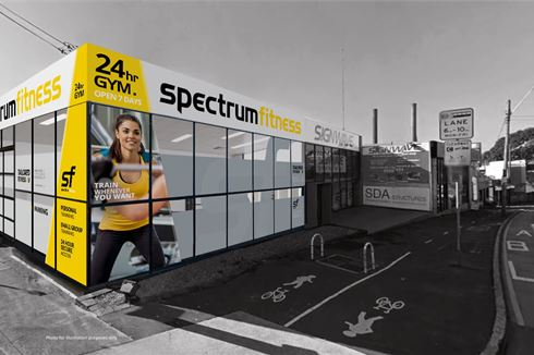 Spectrum Fitness front photo