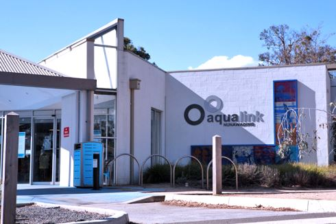Aqualink Leisure Centre front photo