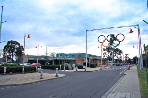 Olympic Leisure Centre front photo