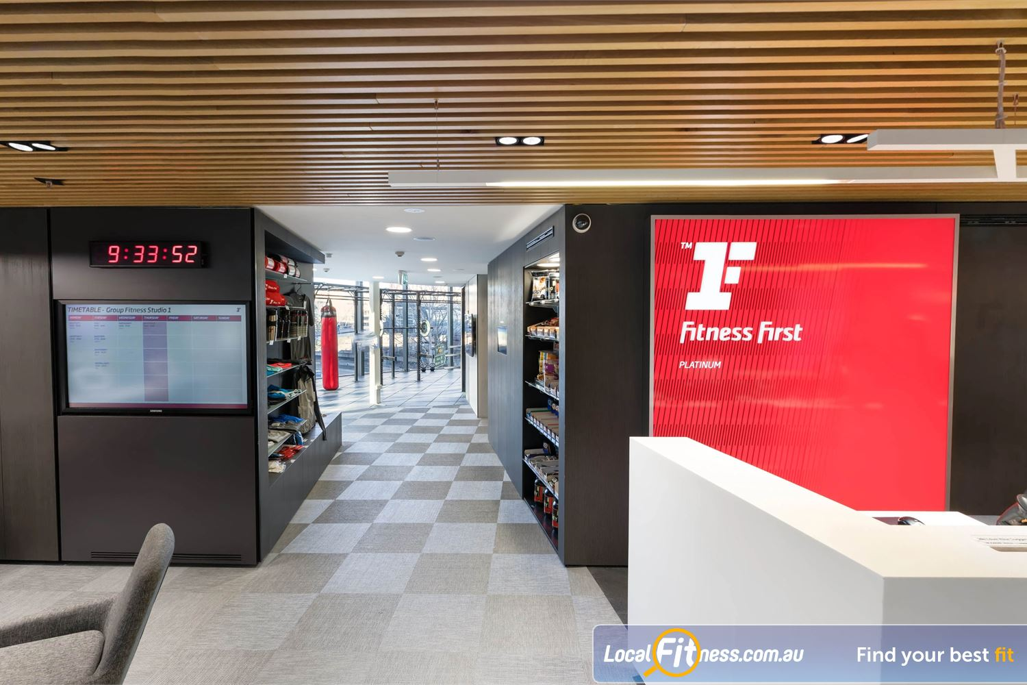 Fitness First Platinum Market St. front photo