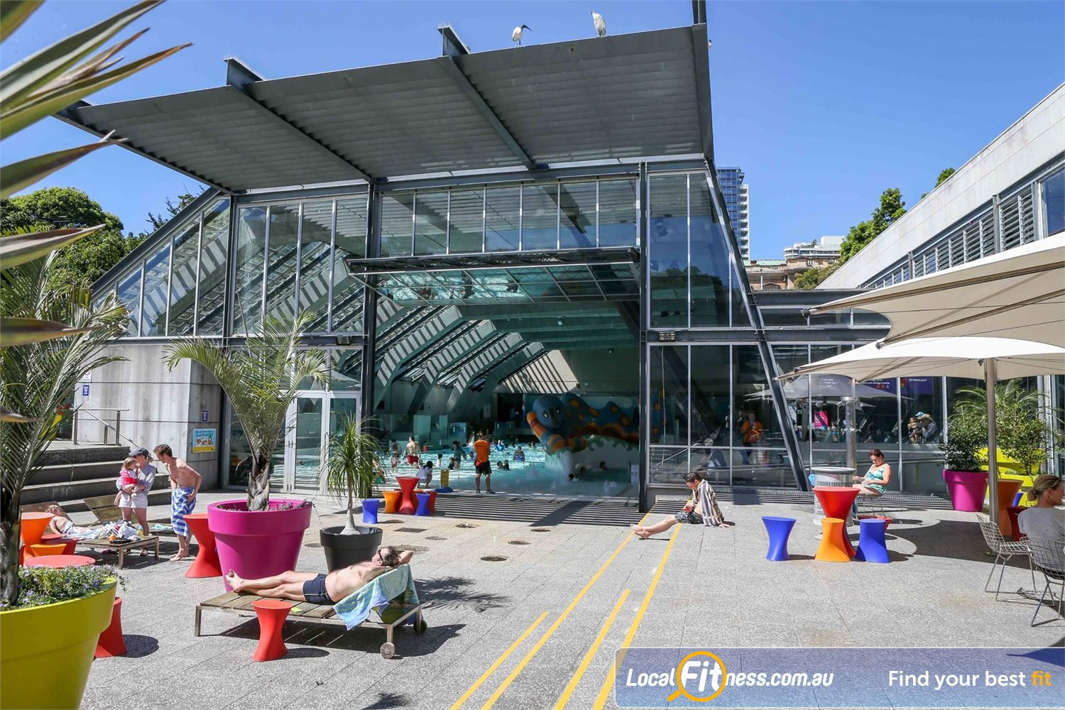 Cook and Phillip Park Aquatic and Fitness Centre front photo