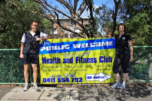 EFM Health & Fitness Clubs front photo
