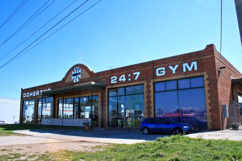 Doherty's Gym front photo