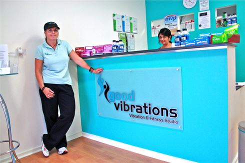 Good Vibrations Vibration & Fitness Studio front photo