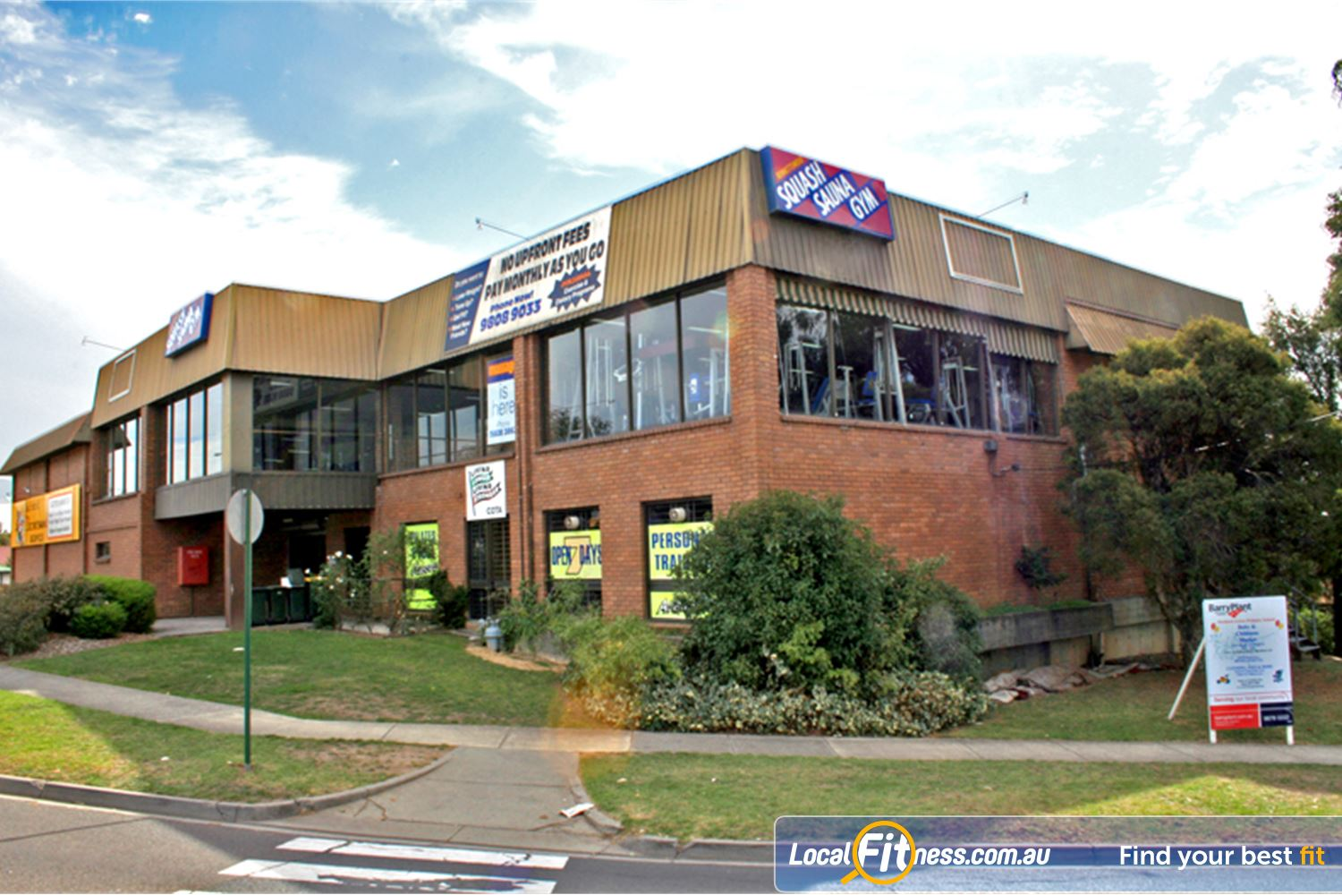 Bennettswood Fitness Centre front photo