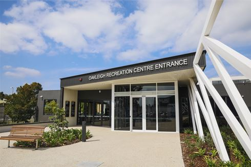 Oakleigh Recreation Centre front photo