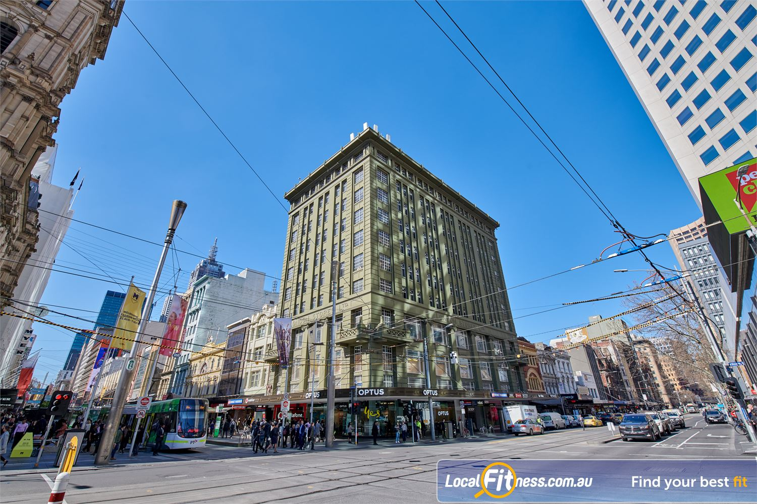 Fitness First Bourke St front photo
