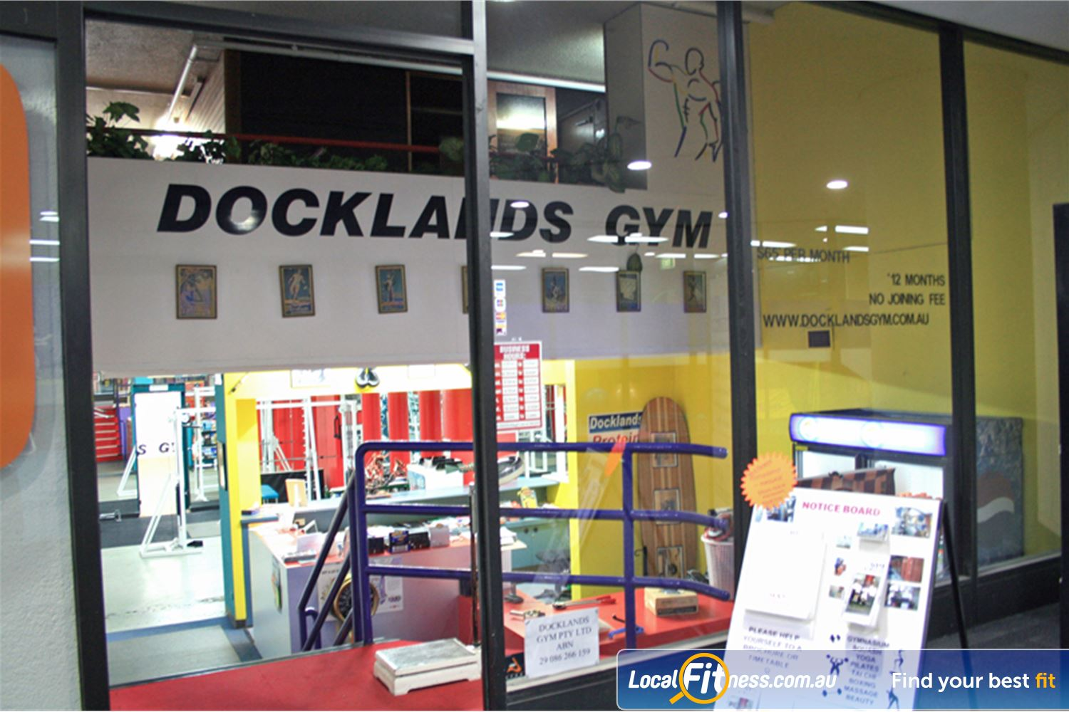 Docklands Gym & Squash Centre front photo