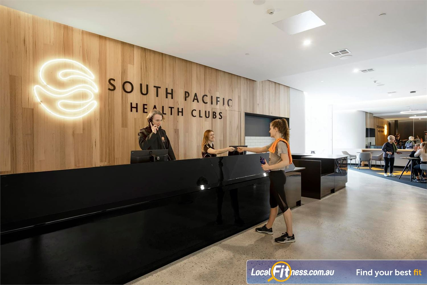 South Pacific Health Clubs front photo