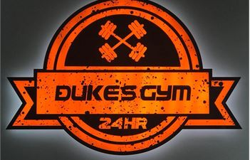 Dukes 24hr Gym logo