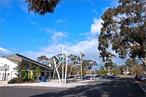 Ascot Vale Leisure Centre front photo