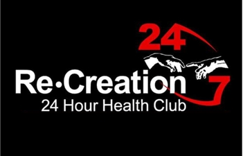 Re-Creation Health Clubs Trackside logo