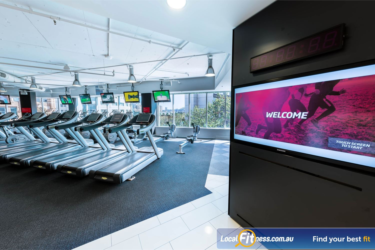Fitness First Platinum Kings Cross front photo