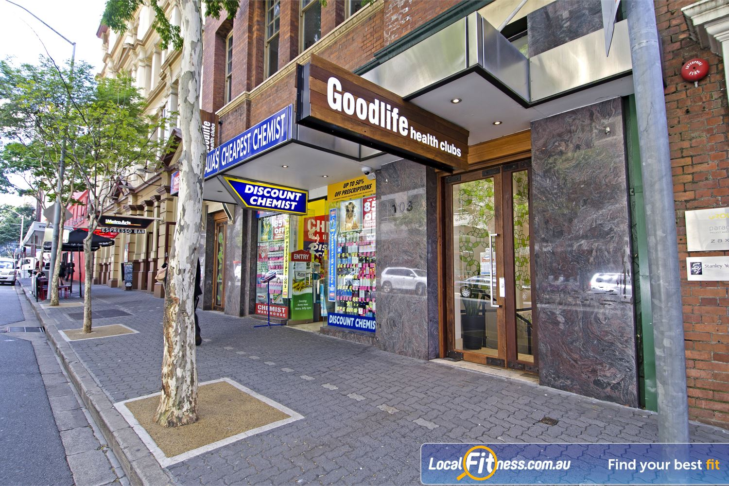 Goodlife Health Clubs Edward St front photo