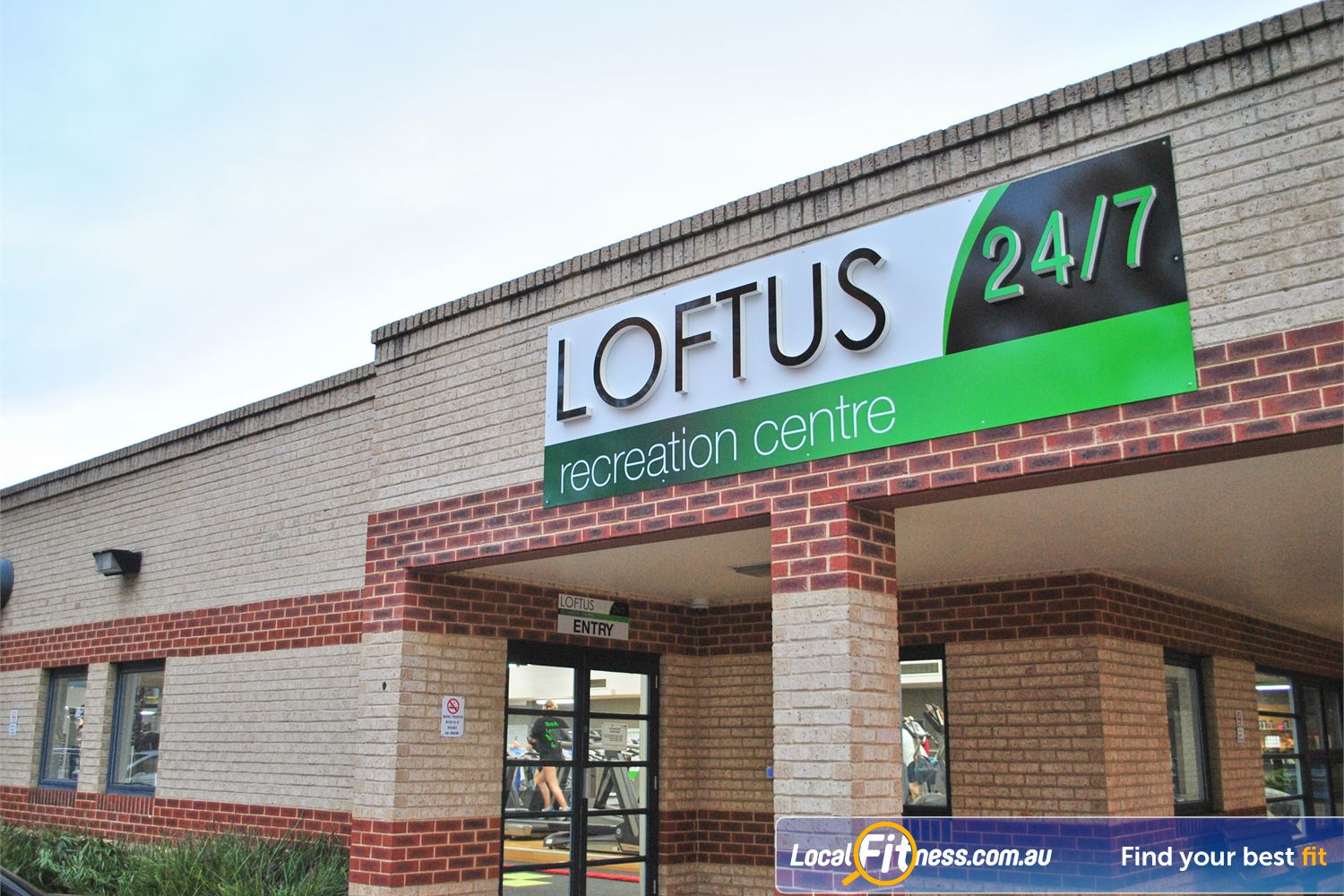 Loftus Recreation Centre front photo