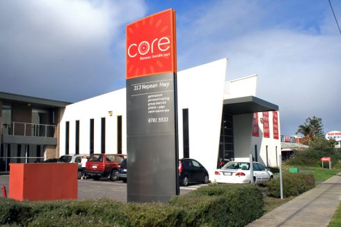 Core Health Club front photo