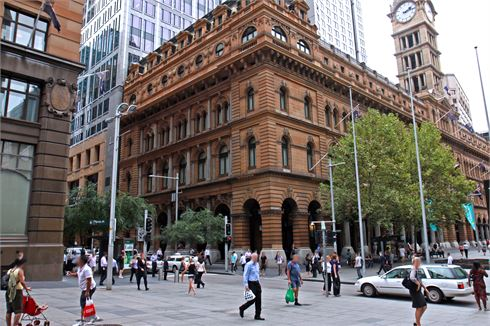 Goodlife Health Clubs Martin Place front photo
