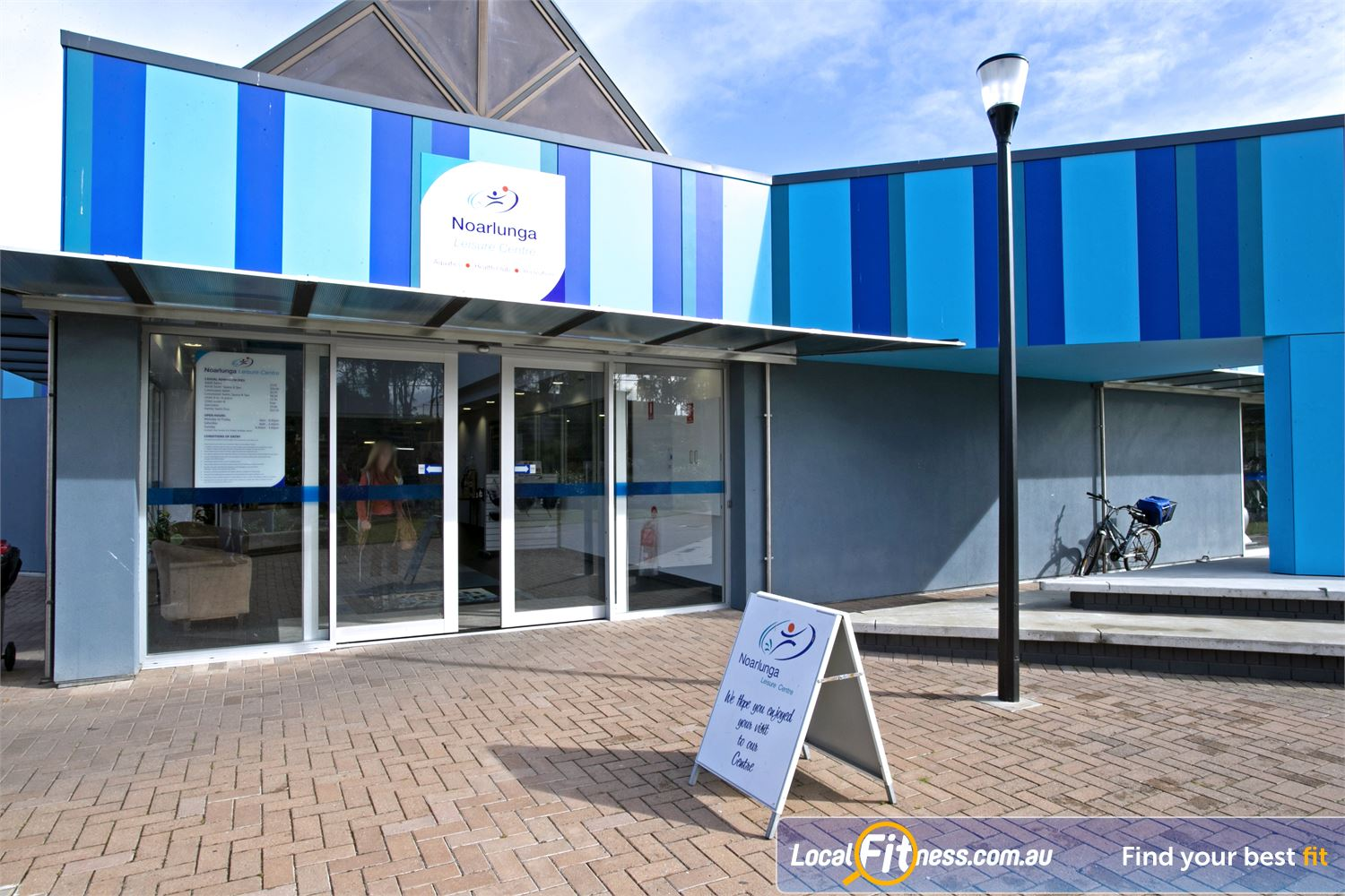 Noarlunga Leisure Centre front photo