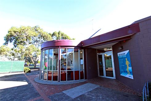 North Melbourne Community Centre front photo