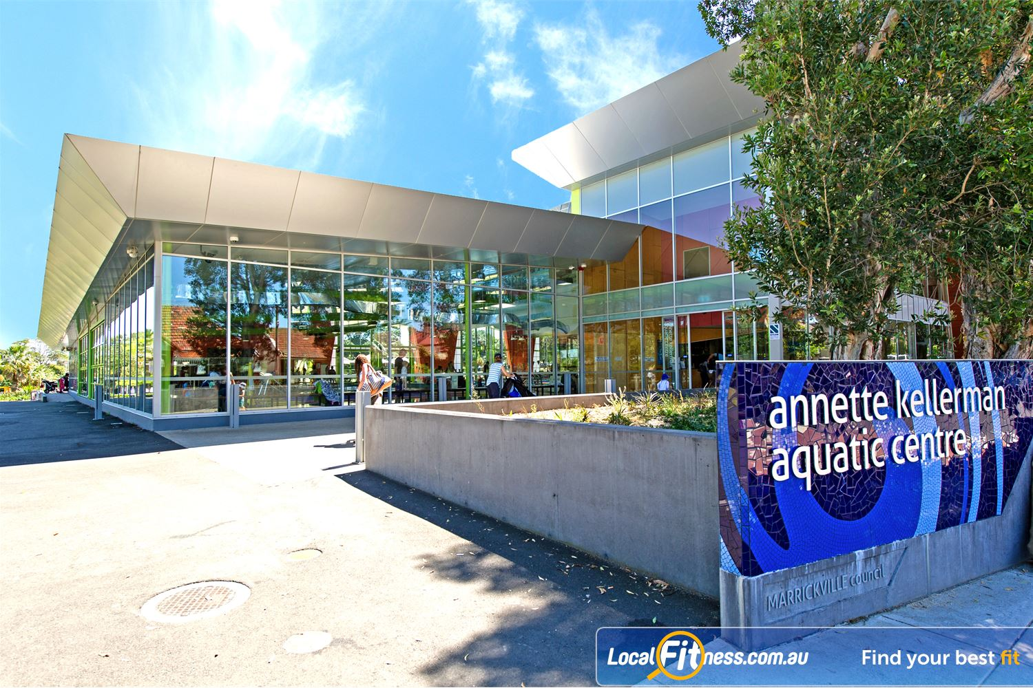 Annette Kellerman Aquatic Centre front photo