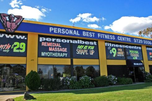 Personal Best Fitness Centre front photo