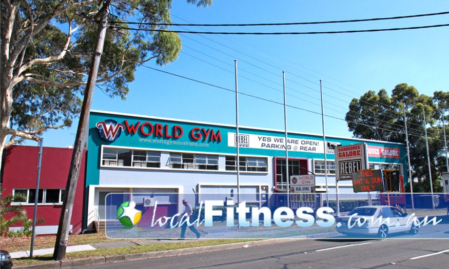 World Gym front photo