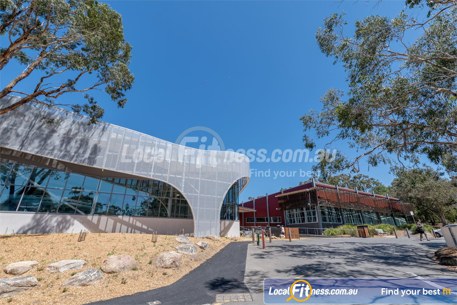 Eltham Leisure Centre front photo