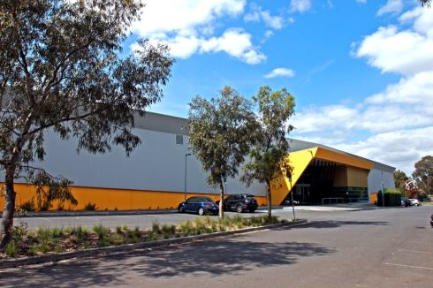 Banyule Netball Stadium front photo