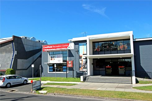 Caulfield Recreation Centre front photo