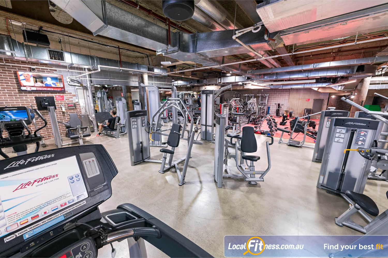 Fitness First Platinum Shelley St front photo