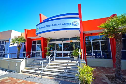 Belmont Oasis Leisure Centre front photo