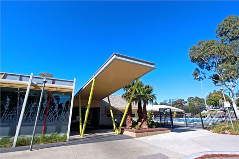 Ashburton Pool & Recreation Centre front photo