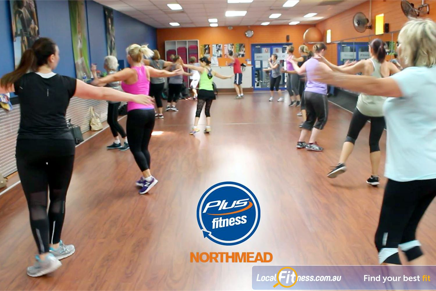 Plus Fitness Health Clubs front photo