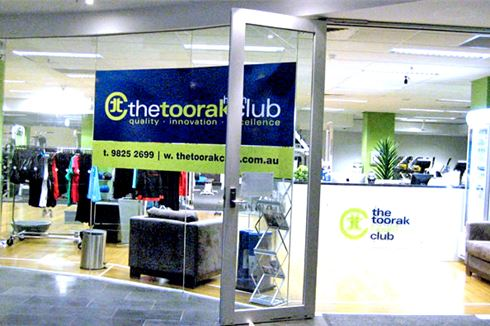 The Toorak Health Club front photo