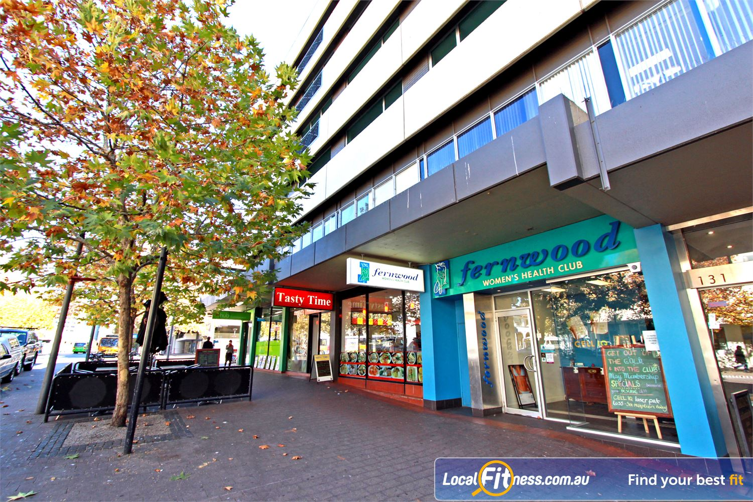 Fernwood Fitness Canberra City front photo