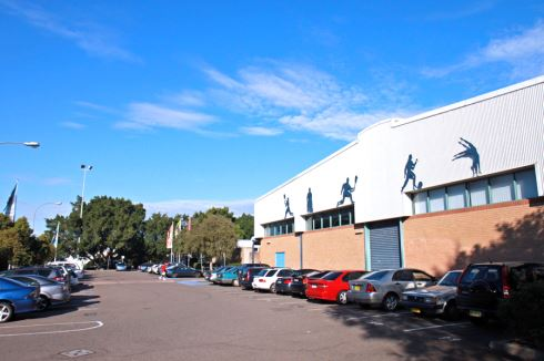 Five Dock Leisure Centre front photo