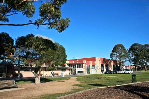 Fawkner Leisure Centre front photo