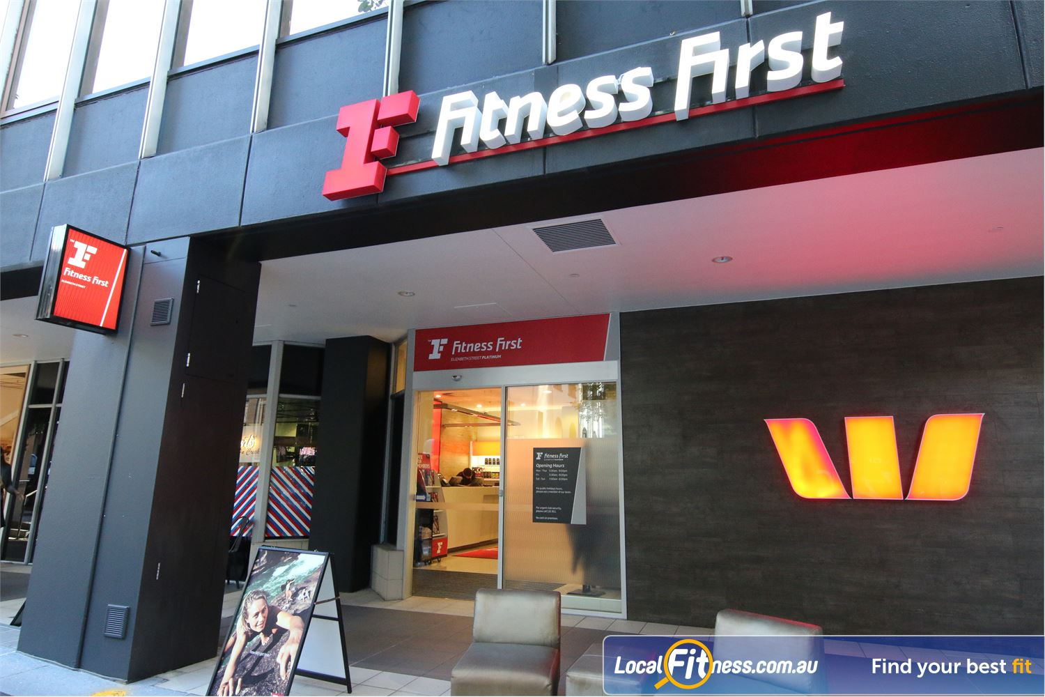 Fitness First Elizabeth St front photo