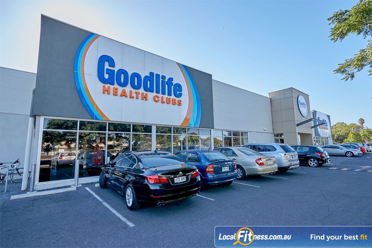 Goodlife Health Clubs Cross Roads front photo