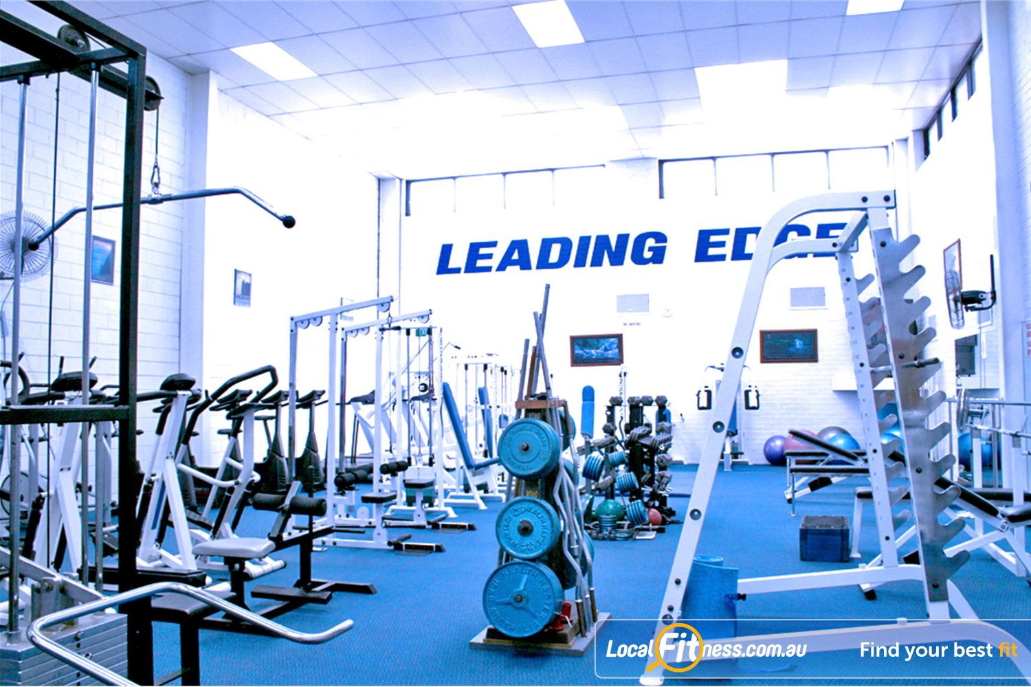 Leading Edge Health & Fitness Glen Waverley The small, friendly and personal Glen Waverley gym.