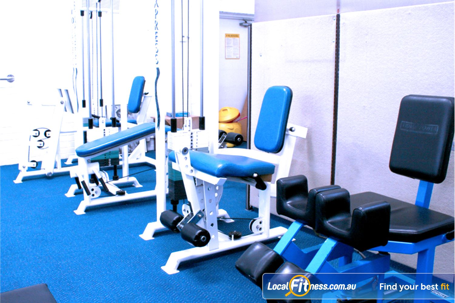 Leading Edge Health & Fitness Glen Waverley Our Glen Waverley gym provides easy to use pin-loading machines.